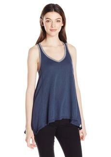 Volcom Junior's Down Tha Block Ribbed Loose Fitting Tank