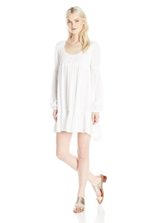 Volcom Junior's Ethos Peasant Long Sleeve Dress  XS