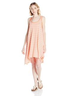 Volcom Junior's First Sail Stripe T-Shirt Dress