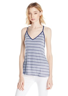 Volcom Junior's First Sail V-Neck Cami with Cute Back Strap