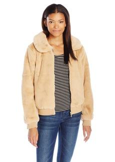 Volcom Women's Furcasting Faux Fur Jacket