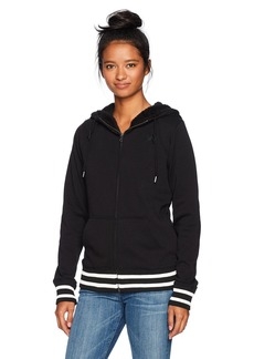 Volcom Women's Good One Zip up Fleece Sweatshirt  L