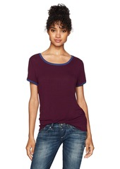 Volcom Women's Hey Slim Fit Short Sleeve Tee  S
