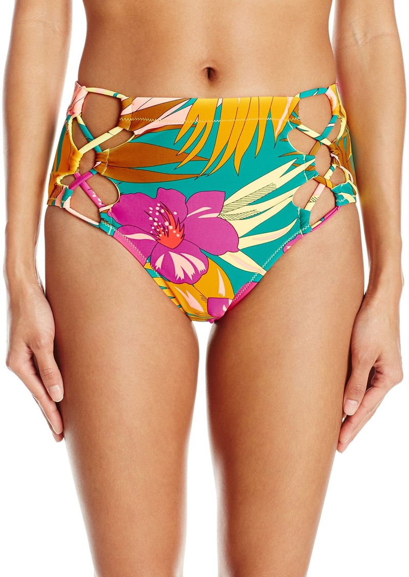 484d8f7068 Volcom Volcom Women s Hot Tropic Retro Bikini Bottom S Now  29.83