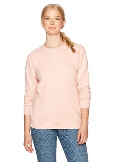 Volcom Women's Lil Crew Neck Pullover Fleece Sweatshirt  M