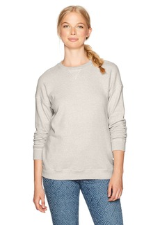 Volcom Women's Lil Crew Neck Pullover Fleece Sweatshirt  XS