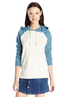 Volcom Junior's Lived in Color Blocked Pullover Hoodie