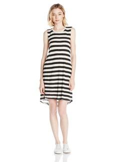 Volcom Junior's Lived in Rib Stripe Dress