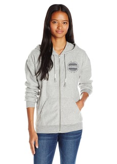 Volcom Junior's Lived in Soft Fleece Zip up Hoodie