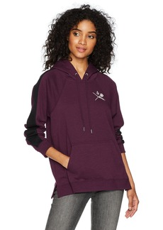 Volcom Women's My Future Pullover Hooded Fleece Sweatshirt  M