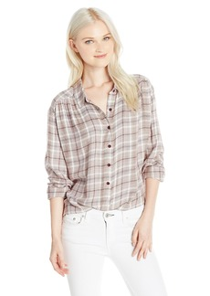 Volcom Women's Plaidazzle Shirt  L