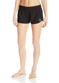 Volcom Women's Simply Solid 2 inch Boardshort  XL