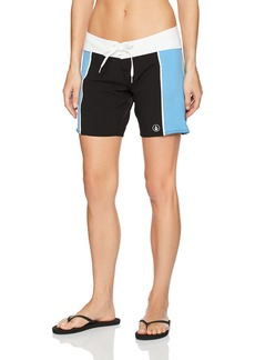 Volcom Women's Simply Solid 7 Inch Boardshort