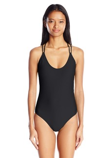 Volcom Women's Simply Solid One Piece Swimsuit  XL