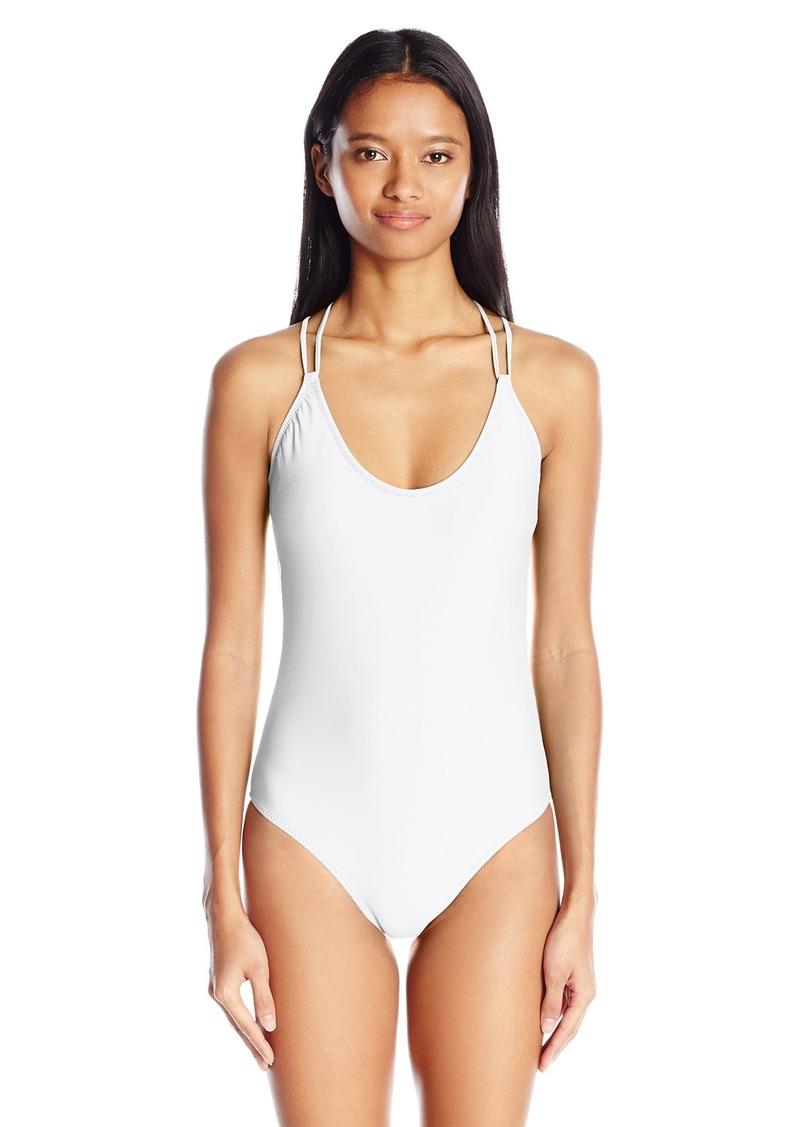 e4a8cf7327 Volcom Volcom Women's Simply Solid One Piece Swimsuit XL | Swimwear