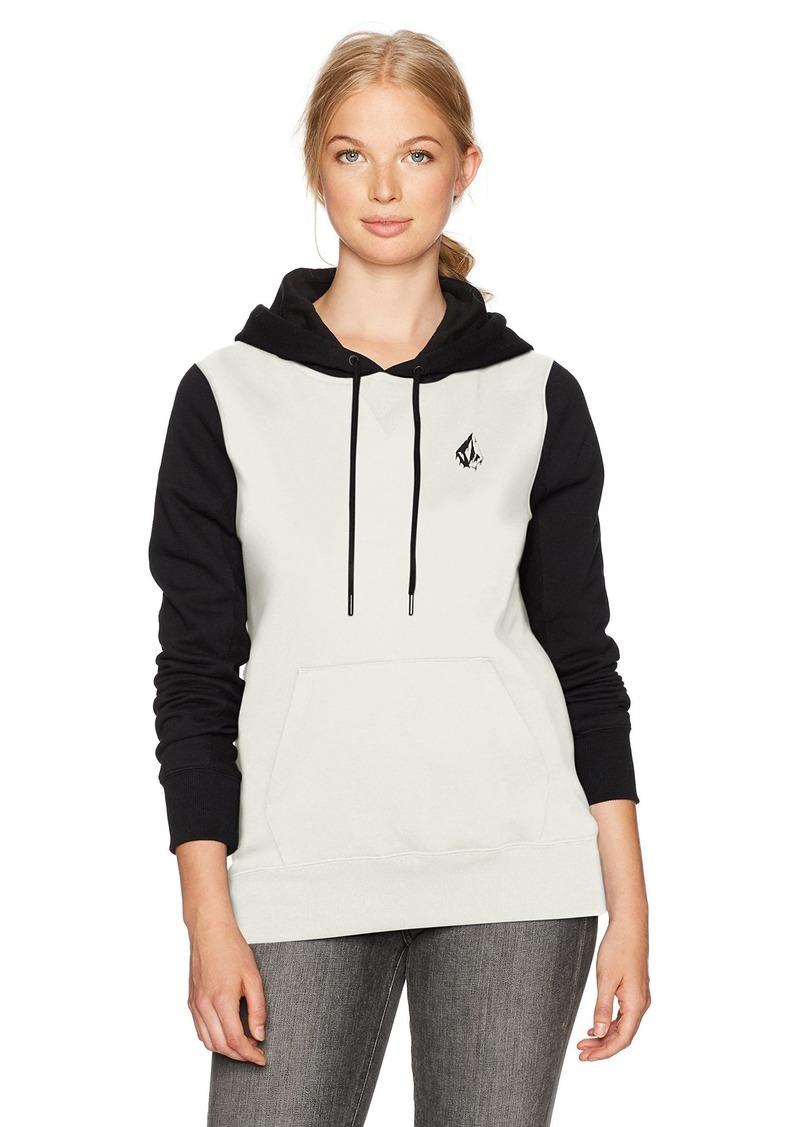 Volcom Women's Slidin' Pullover Hoody Fleece Sweatshirt  XS