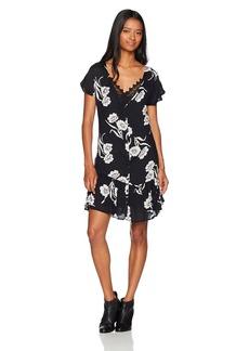 Volcom Women's Slipinslide allover Print Dress  S