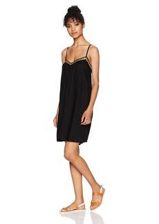 Volcom Women's Stone Coast Strappy Mini Dress  M