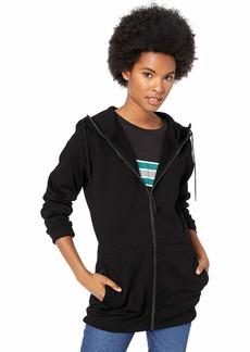 Volcom Women's Vitro Hooded Fleece Baselayer Sweatshirt