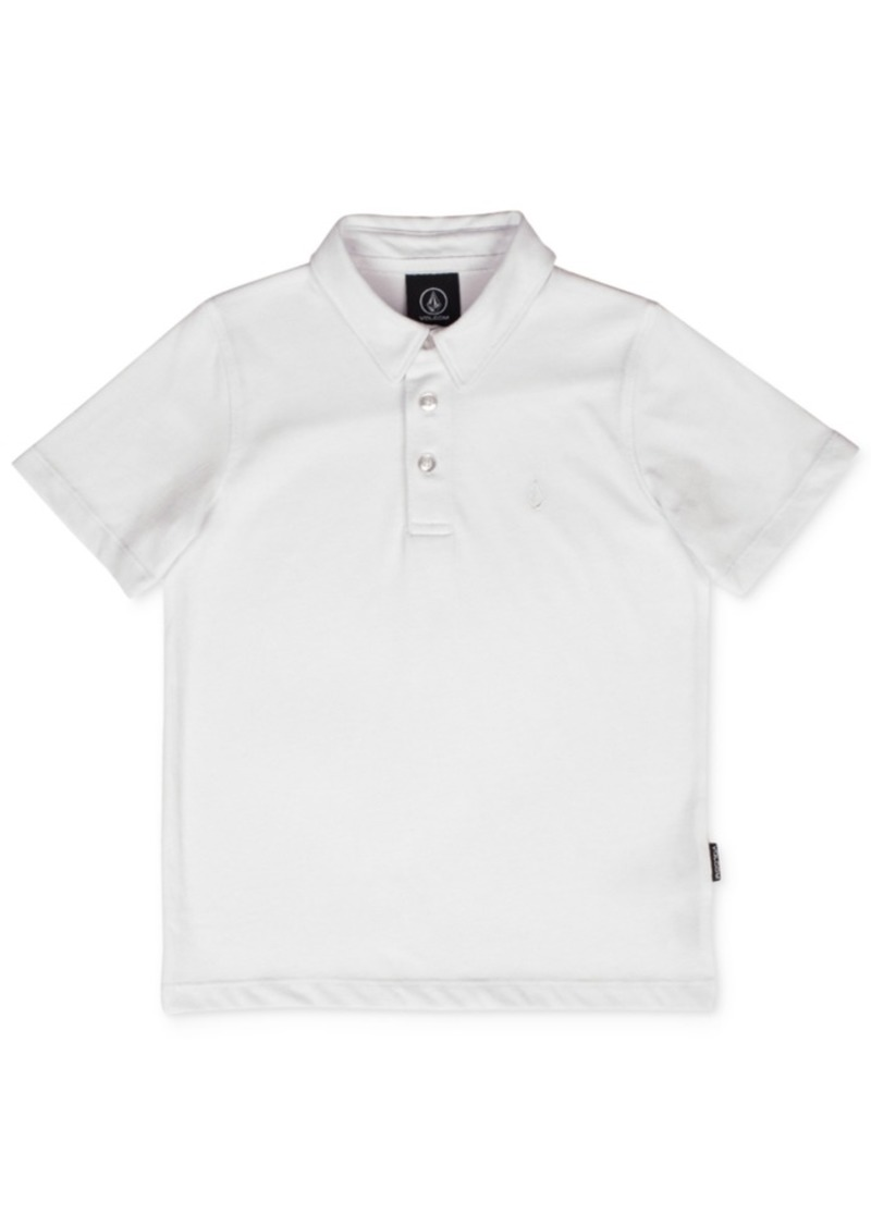 Volcom Wowzer Polo Shirt, Little Boys
