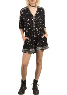 Volcom x Georgia May Jagger Star Print Romper