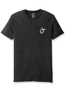 Volcom Young Men's Volcom Men's Mix Up Short Sleeve Tee Shirt black L