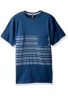 Volcom Young Men's Volcom Men's Short Sleeve Threezy Crew Shirt Shirt  XL