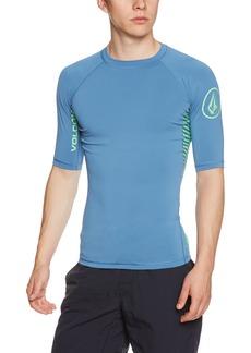 Volcom Young Men's Volcom Men's Vibes Short Sleeve Rashguard Shirt  S