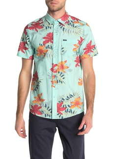 Volcom Wave Fayer Hawaiian Short Sleeve Shirt