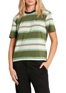 Women's Volcom Choice Is Yours Stripe T-Shirt