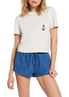 Women's Volcom Pocket Organic Cotton T-Shirt