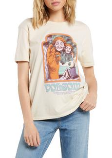 Women's Volcom X Max Loeffler Organic Cotton Graphic Tee