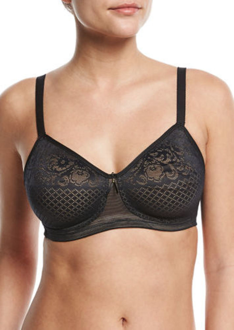 Wacoal America Inc. Visual Effects Soft Cup Lace Minimizer Bra