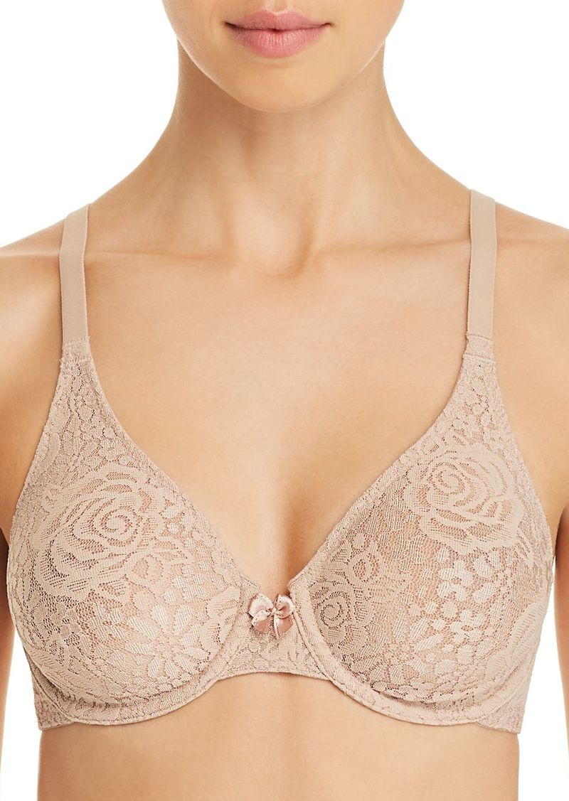 39bf6567af3 Wacoal America Inc. Wacoal Halo Full-Figure Unlined Underwire Bra ...