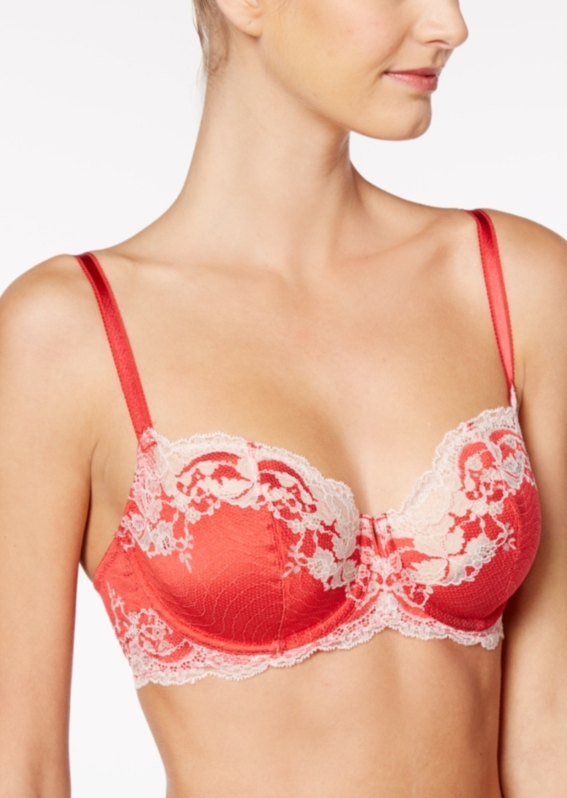 3e73814d20889 On Sale today! Wacoal America Inc. Wacoal Lace Affair Sheer Lace Bra ...