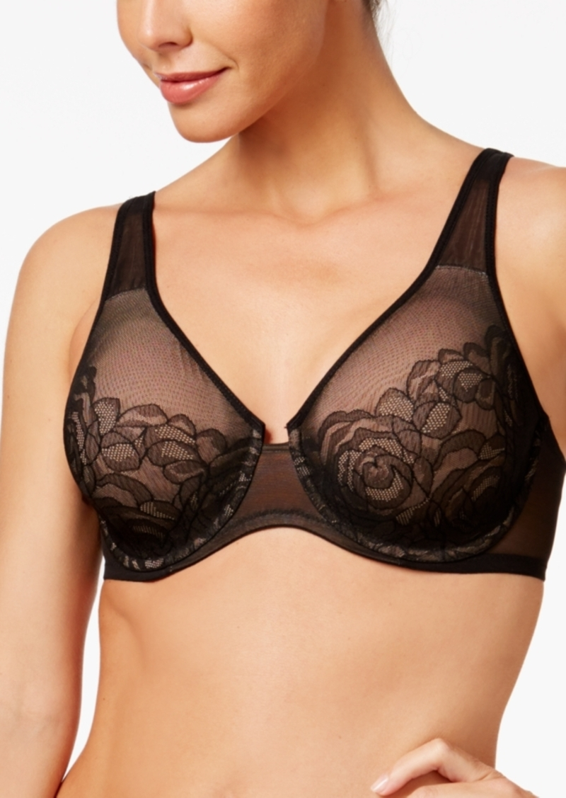 Wacoal America Inc. Wacoal Stark Beauty Rose-Lace Molded Bra 855225