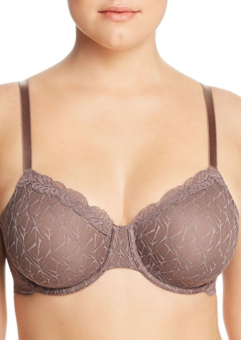 Wacoal America Inc. Wacoal Vivid Encounter Lace Convertible Unlined Underwire Bra