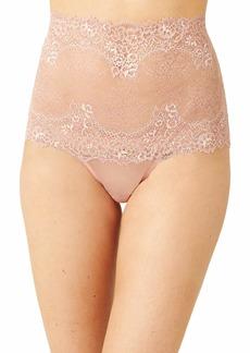 Wacoal America Inc. Wacoal Women's Level Up Lace Hi Waist Thong