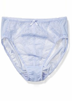 Wacoal America Inc. Wacoal Women's Plus Size Retro Chic Hi Cut Brief Panty