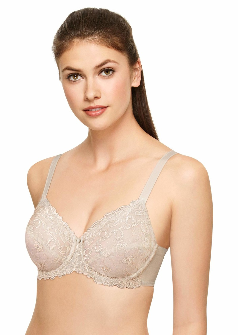 Wacoal America Inc. Wacoal Women's Renaissance Rose Embroidered Underwire Bra