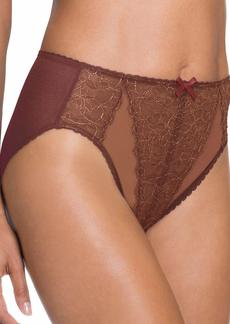 Wacoal America Inc. Wacoal Women's Retro Chic Hi Cut Brief Panty