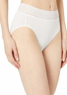 Wacoal America Inc. Wacoal Women's Subtle Beauty Hi Cut Brief Panty