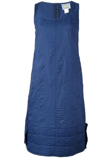 Walter boiled effect A-line dress