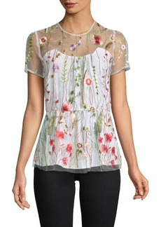 Walter Fiona Embroidered Blouse