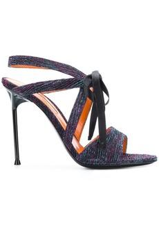 Walter Rita ribbon tie sandals