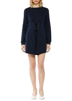 Walter Baker Anne Long-Sleeve Mini Dress