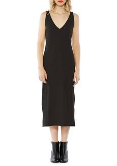 Walter Baker Brooklyn V-Front Cotton Dress
