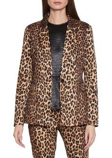 Walter Baker Elena Leopard-Print Jacket