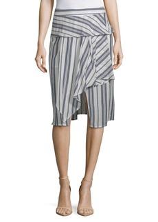 Walter Gabrielle Striped Cotton Skirt