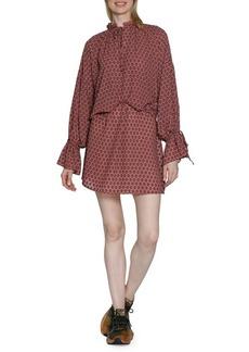 Walter Baker Malissa Dotted Chiffon Dress